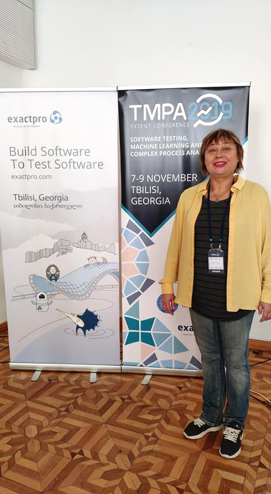 Міжнародна конференція Software Testing, Machine Learning and Complex Process Analysis (TMPA-2019) у Тбілісі